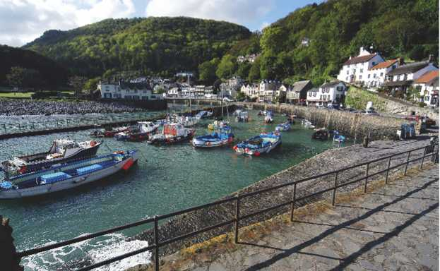 Lynmouth_harbour